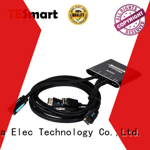 Tesla Elec best kvm switch hdmi manufacturer for checkout counter