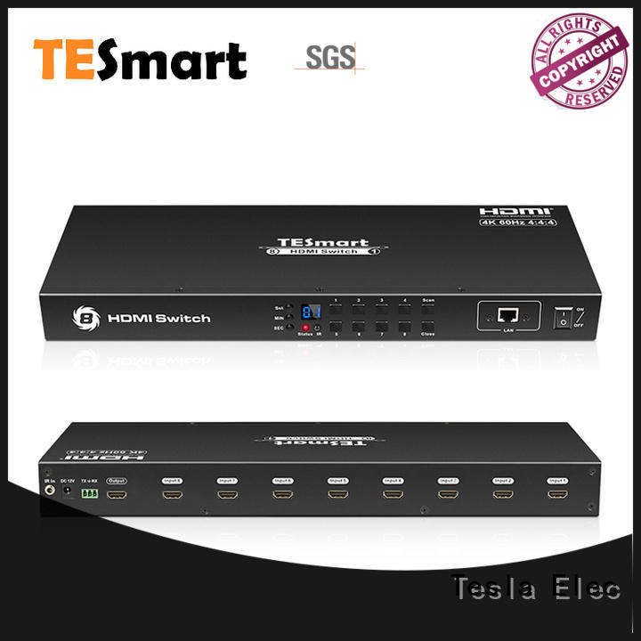 Tesla Elec 4 port hdmi switch factory for DVD player