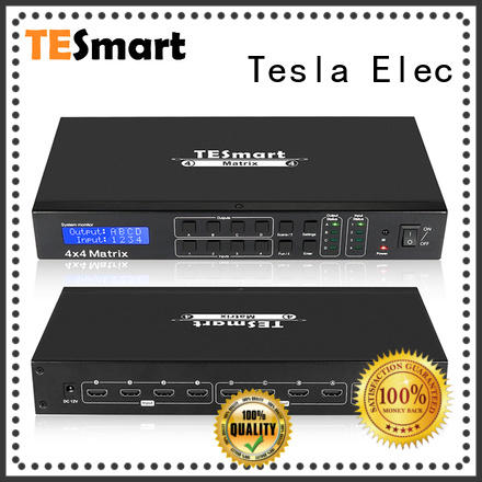 Tesla Elec support 1080p 4k hdmi matrix 8x8 manufacturer for video
