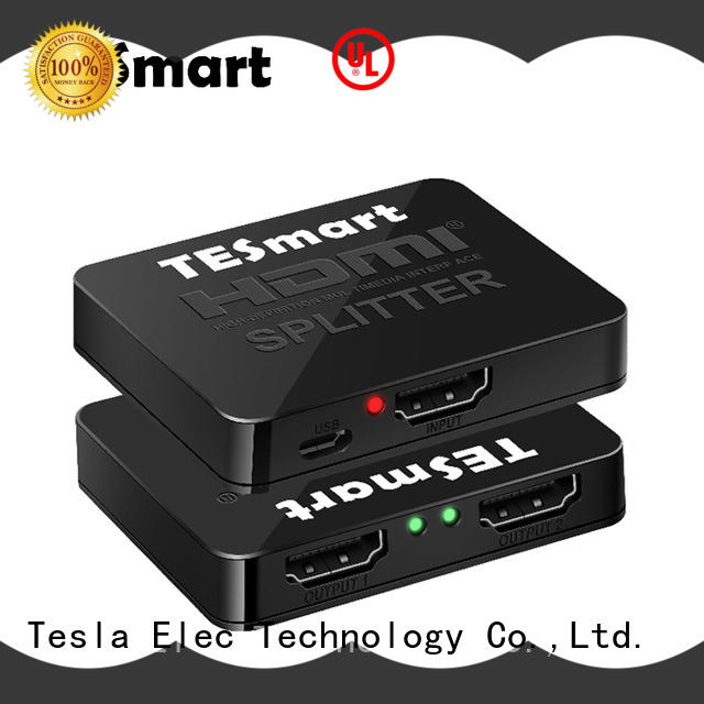 Tesla Elec hdmi output splitter directly sale for computers