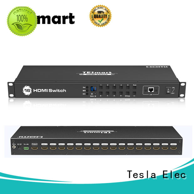 Tesla Elec latest 5 port hdmi switch manufacturer for DVD player
