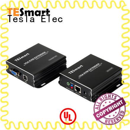 Tesla Elec mini kvm extender manufacturer for conference room
