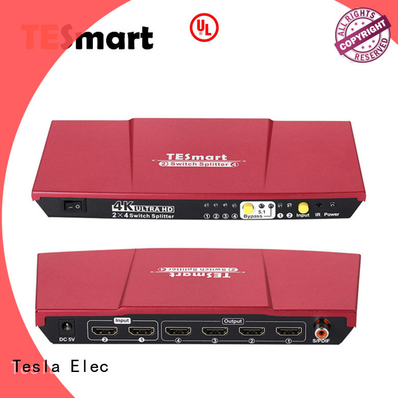Tesla Elec hdmi switch splitter factory price for display devices
