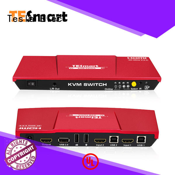 reliable kvm switch dual monitor supplier for computer