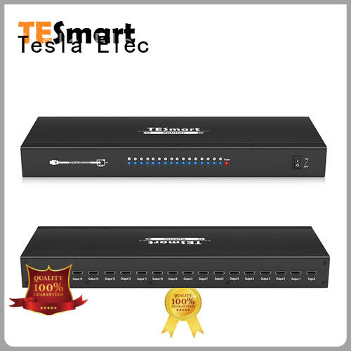 Tesla Elec hdmi splitter 2 in 1 out supplier for display device