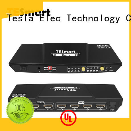 Tesla Elec support 1080p 4k hdmi matrix switch directly sale for audio
