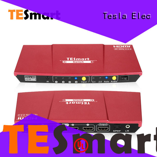 Tesla Elec smart hdmi switch factory for computers