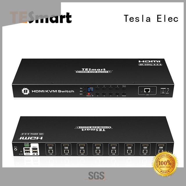 Tesla Elec customized kvm switch customized for television