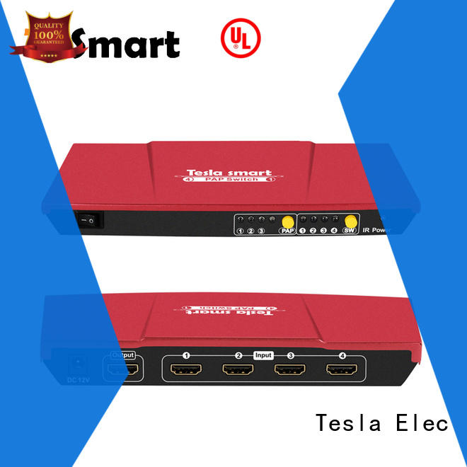 Tesla Elec audio out dual hdmi switch customized for media player