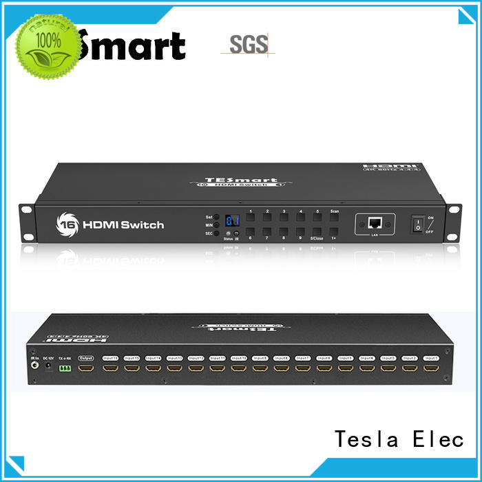Tesla Elec out hdmi switch wholesale for DVD player