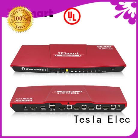 Tesla Elec kvm switch hdmi customized for computer