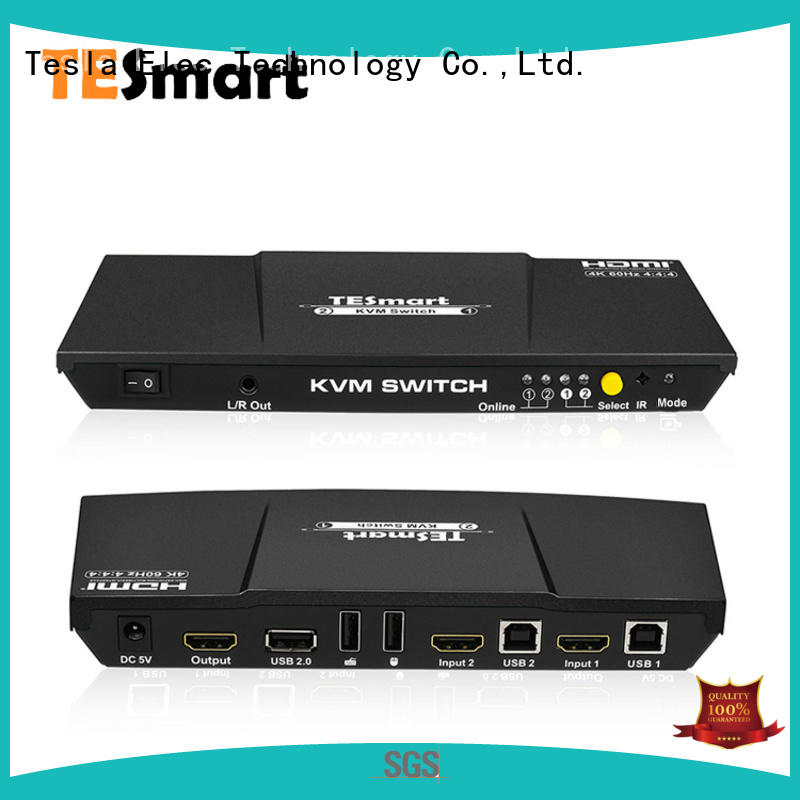Tesla Elec best kvm switch hdmi directly sale for television