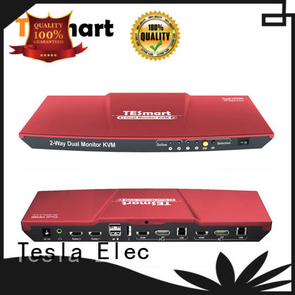 Tesla Elec reliable kvm switch customized for television