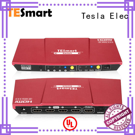 Tesla Elec stable smart hdmi switch wholesale for computers