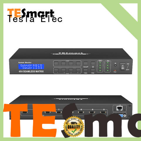 Tesla Elec 4x4 hdmi matrix wholesale for video