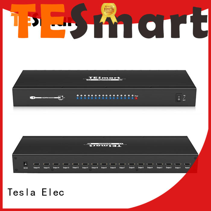 Tesla Elec 4k60hz hdmi splitter factory price for display device