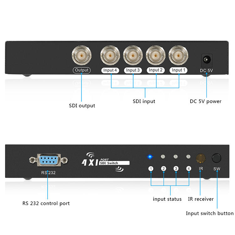 Tesla Elec high speed sdi hdmi directly sale for video-1