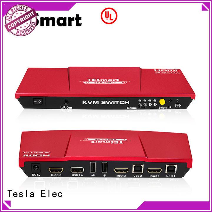 Tesla Elec kvm switch 8 port with good price for printer