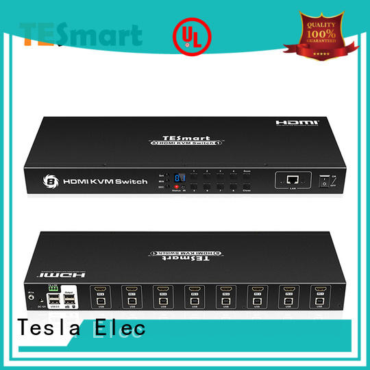 Tesla Elec quality kvm switch hdmi with good price for computer