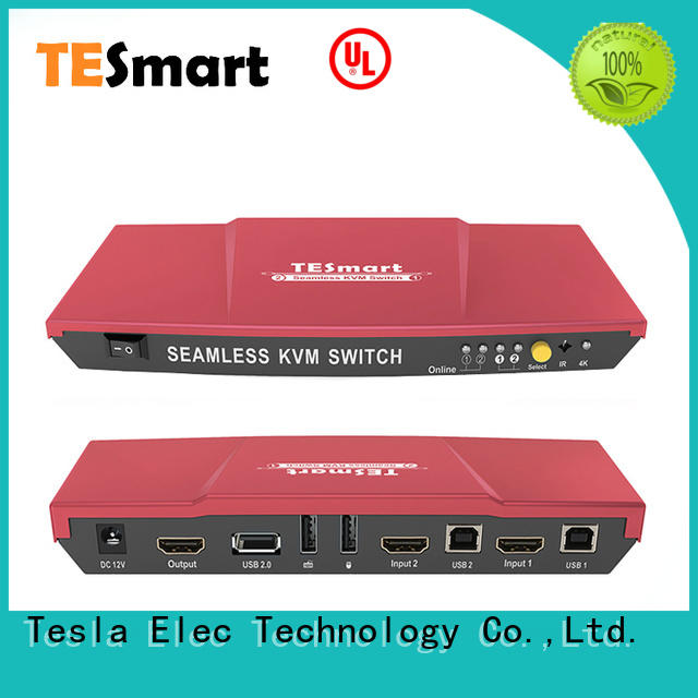 Tesla Elec IR kvm extender manufacturer for conference room