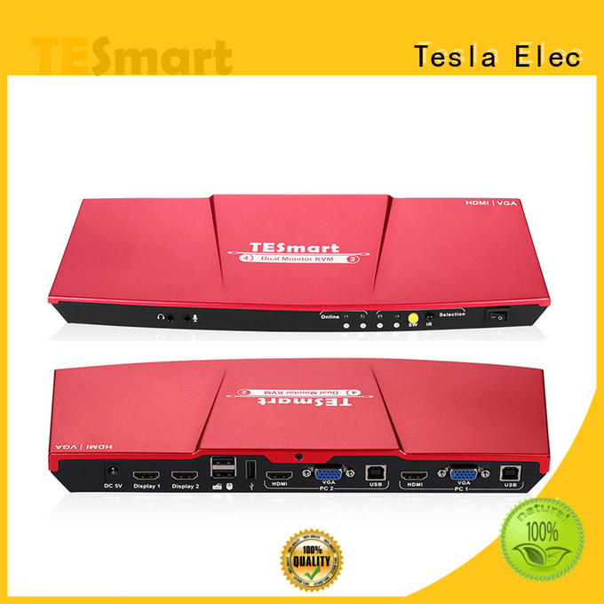 reliable network kvm switch 4x2 directly sale for display device