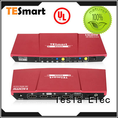 Tesla Elec hdmi switch multiple outputs wholesale for DVD player