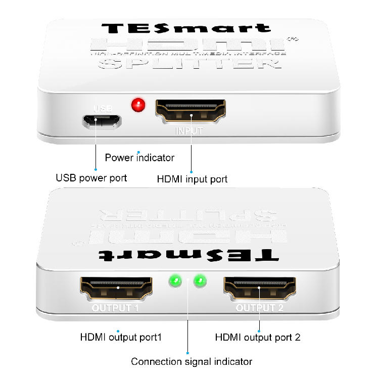1x8 hdmi splitter 4k directly sale for media player-1