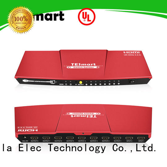 1x8 hdmi splitter for tv 4k60hz manufacturer for DVD player