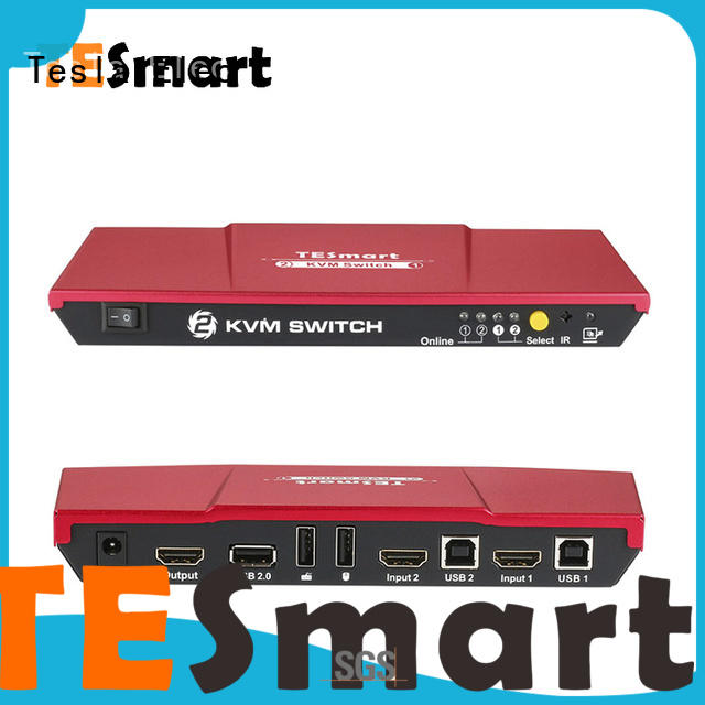 Tesla Elec kvm switch 16 port supplier for printer