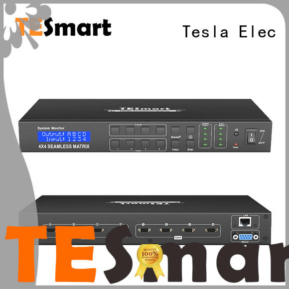 Tesla Elec seamless matrix customized for audio