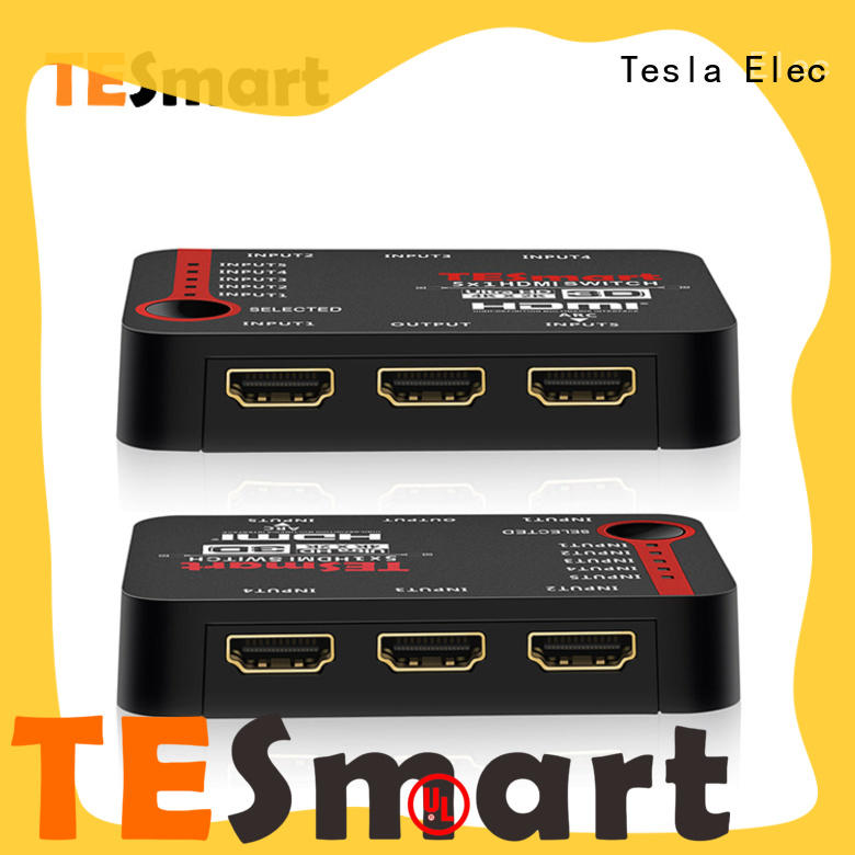 Tesla Elec durable 3 port hdmi switch supplier for DVD player