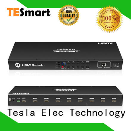 Tesla Elec durable hdmi switch multiple outputs directly sale for media player