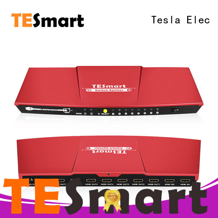 Tesla Elec 2x8 hdmi cable splitter with good price for media player