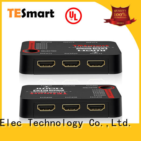 Tesla Elec 3 port hdmi switch customized for computers
