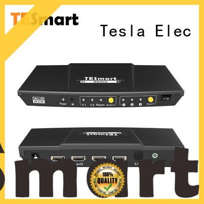 Tesla Elec latest hdmi switch multiple outputs factory for display device