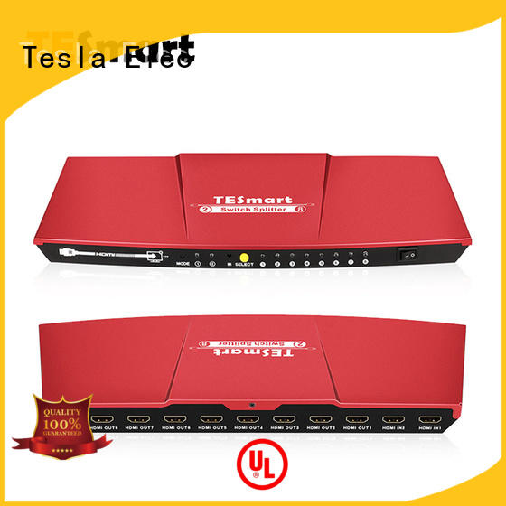 Tesla Elec 2 way hdmi splitter factory price for display devices