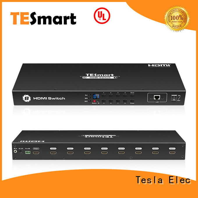 Tesla Elec audio out dual hdmi switch wholesale for media player