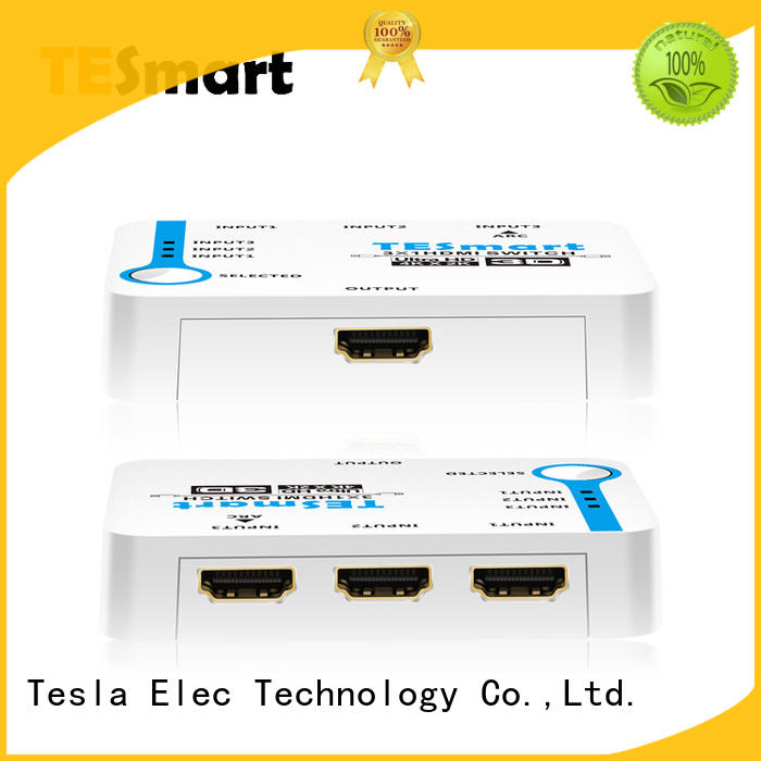 Tesla Elec stable smart hdmi switch manufacturer for computers