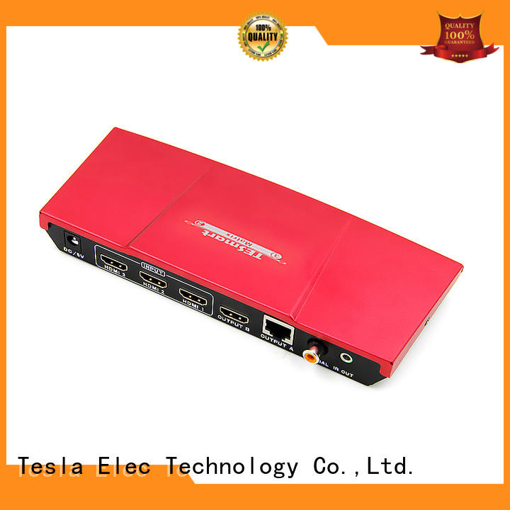 Tesla Elec compatible HDMI matrix with Extender directly sale for display devices