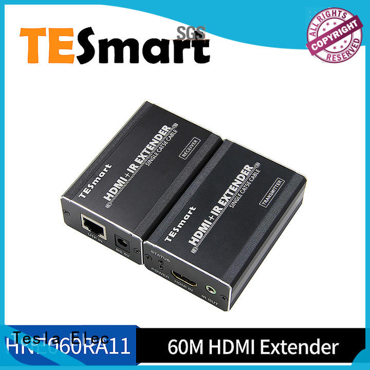 Tesla Elec high-quality best kvm extender with good price for conference room