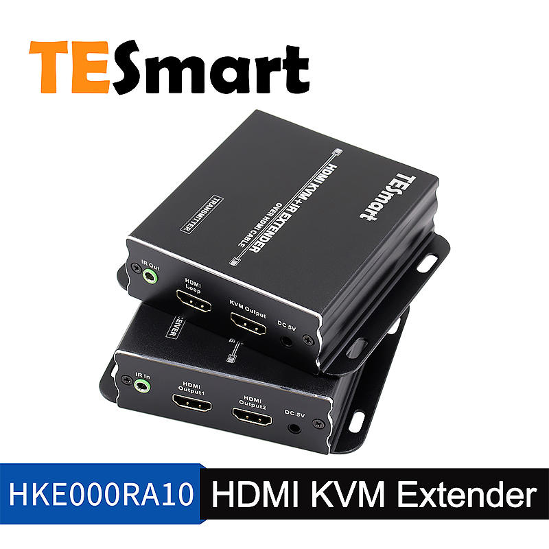 HDMI KVM Extender over HDMI optic cable