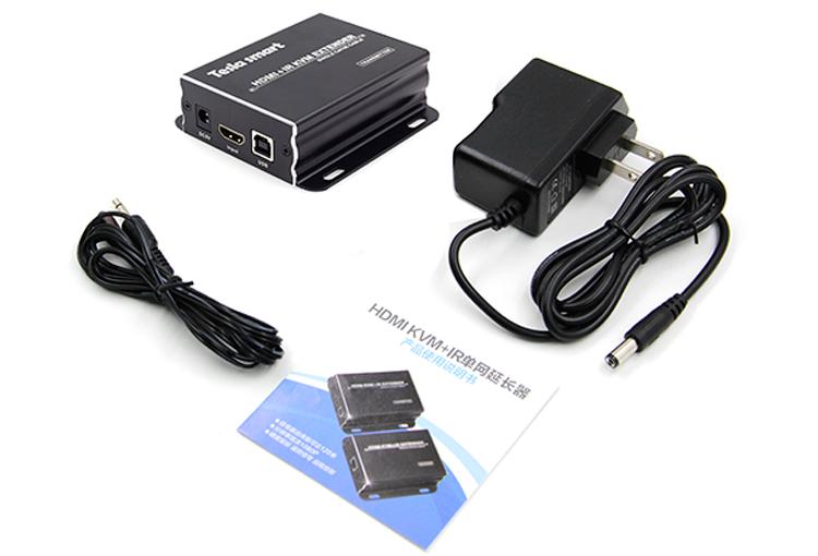 120M HDMI KVM Many to Many Over IP Extender w/ IR-7