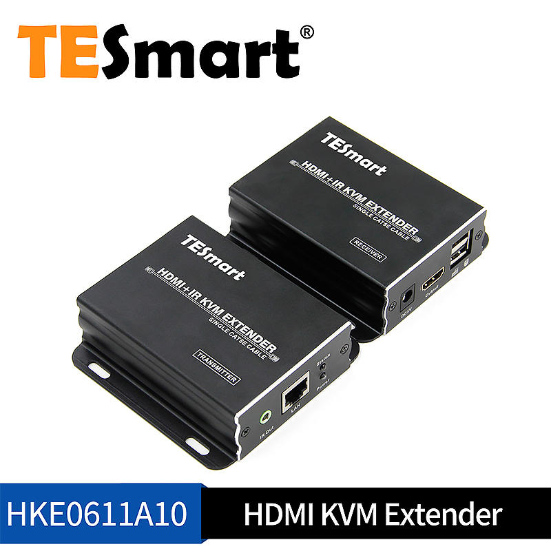 Customized 60M HDMI KVM+IR Extender