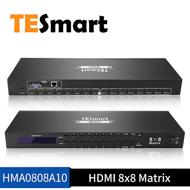 8x8 HDMI Matrix for the Audio and Video