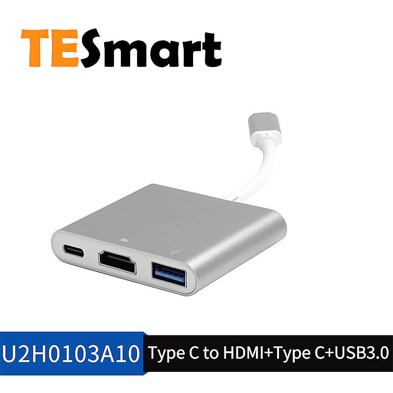 Professional Type-C to HDMI and USB3.0 adapter