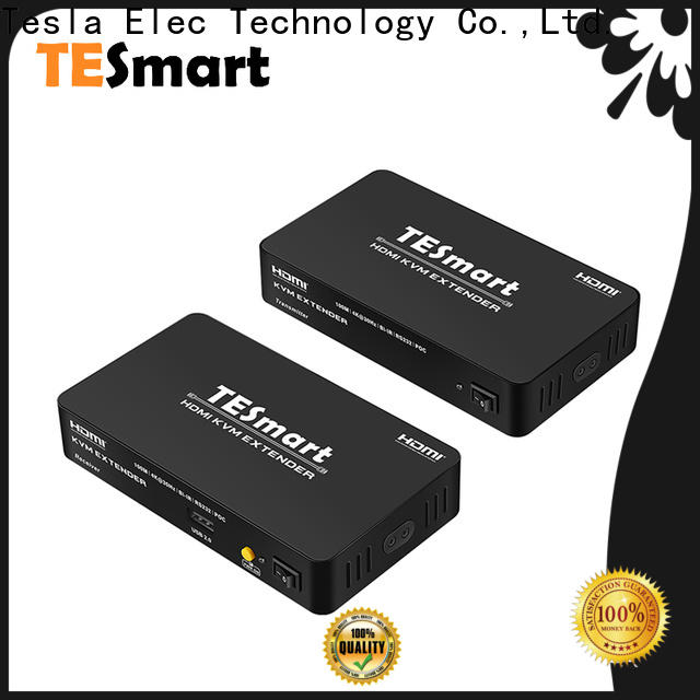 Tesla Elec kvm extender hdmi factory price for TV