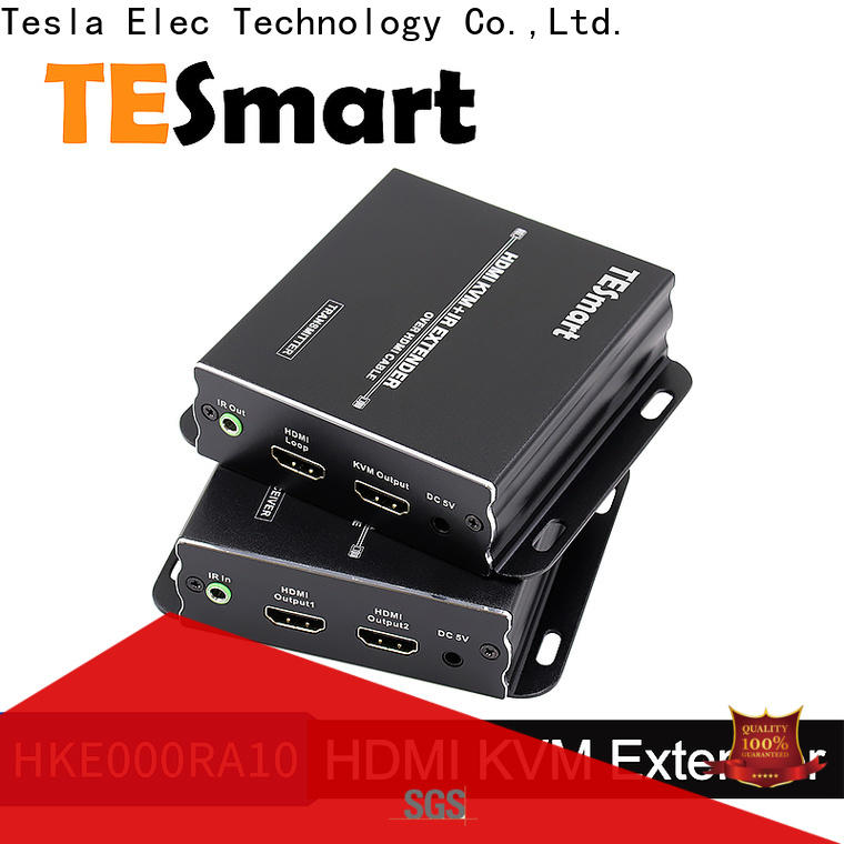 Tesla Elec new hdmi usb kvm extender with good price for TV
