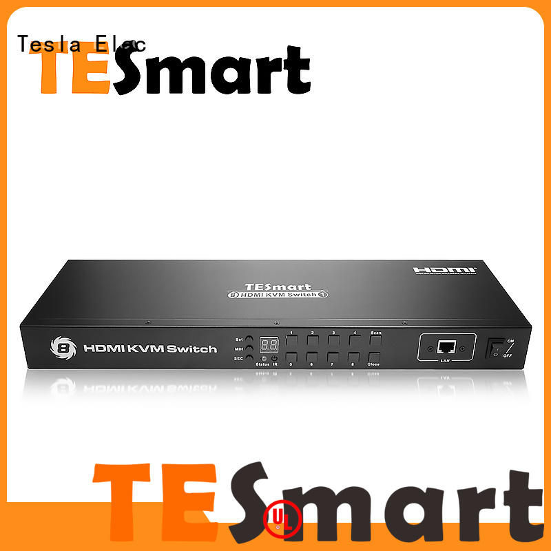 aluminum alloy kvm switch 4 port multiview directly sale for television
