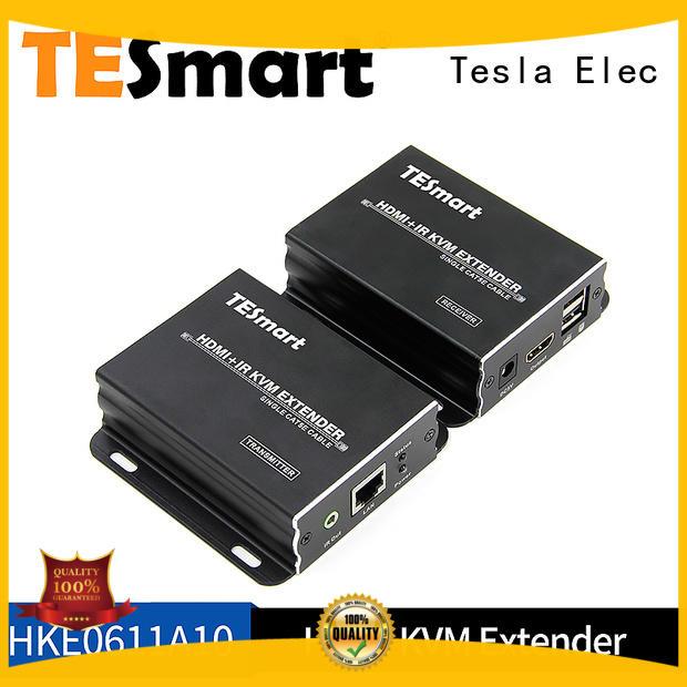 Tesla Elec Brand cable extender alloy custom kvm extender dvi
