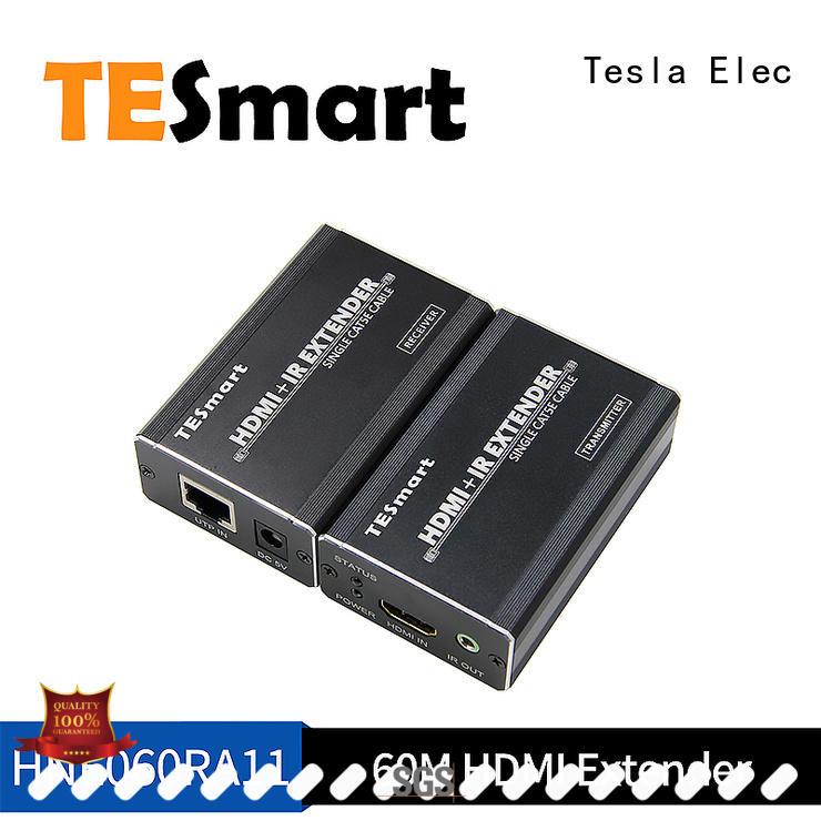 Tesla Elec Brand out aluminum remote kvm extender dvi extender